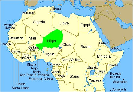 map-of-niger-22-march-2010 - Windham World Affairs Council